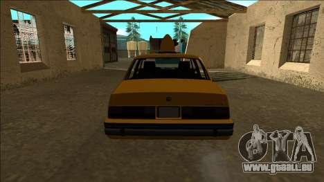 Willard Taxi für GTA San Andreas rechten Ansicht