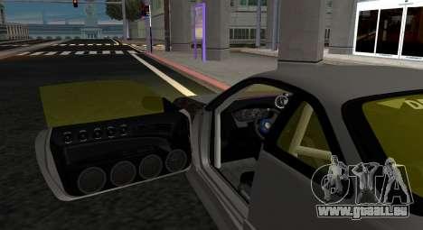 Nissan Silvia S14 JDM v0.1 pour GTA San Andreas sur la vue arrière gauche