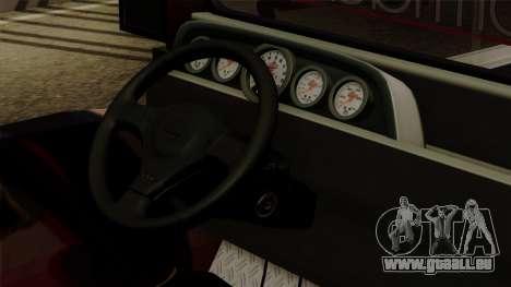 Auto Pormado - Gabshop Custom Jeepney pour GTA San Andreas vue de droite
