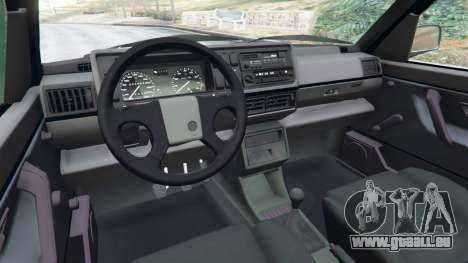 GTA 5 Volkswagen Golf Mk2 GTI rechte Seitenansicht