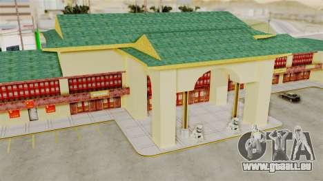 LV China Mall v2 pour GTA San Andreas cinquième écran
