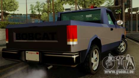 Bobcat from Vice City Stories IVF pour GTA San Andreas laissé vue