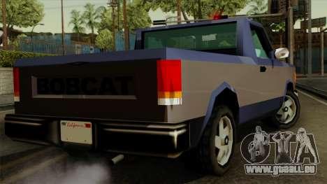 Bobcat from Vice City Stories IVF pour GTA San Andreas laissé vue