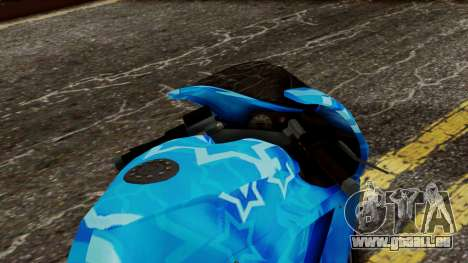 Bati VIP Star Motorcycle für GTA San Andreas Rückansicht