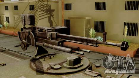 SU-101 122mm from World of Tanks pour GTA San Andreas vue arrière