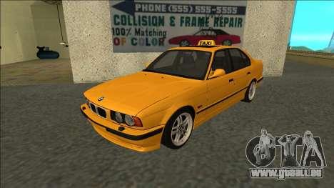 BMW M5 E34 Taxi für GTA San Andreas