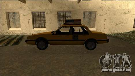 Willard Taxi für GTA San Andreas linke Ansicht