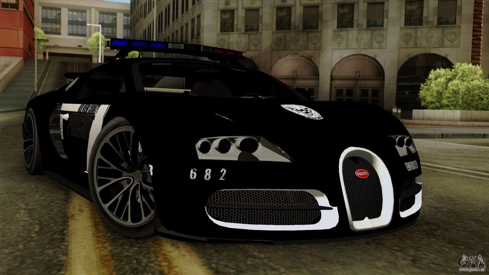 bugatti veyron 16 4 2013 dubai police f r gta san andreas. Black Bedroom Furniture Sets. Home Design Ideas