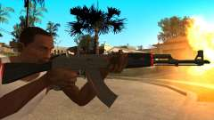 L'AK-47 de la Ligne Rouge de CS:GO