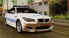 BMW M5 E60 Macedonian Police pour GTA San Andreas
