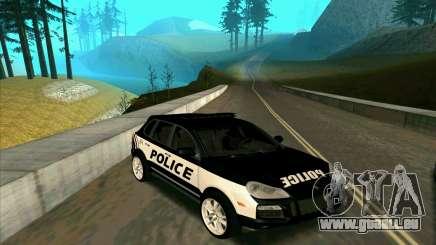 Porsche Cayenne Turbo S Federal Police pour GTA San Andreas