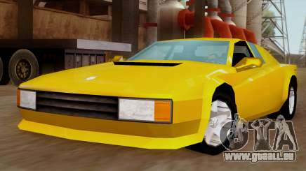 Cheetah from Vice City Stories IVF pour GTA San Andreas