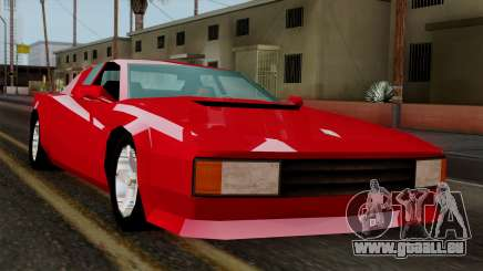 Cheetah from Vice City Stories für GTA San Andreas
