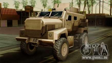 MRAP Cougar 4x4 für GTA San Andreas