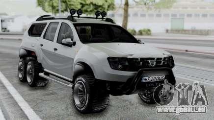 Dacia Duster Terranger 6x6 für GTA San Andreas