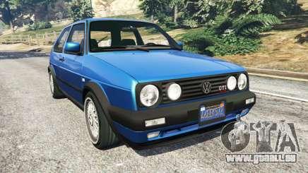 Volkswagen Golf Mk2 GTI pour GTA 5