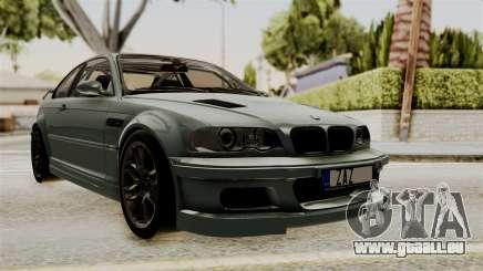 BMW M3 E46 GTR 2005 Stock pour GTA San Andreas