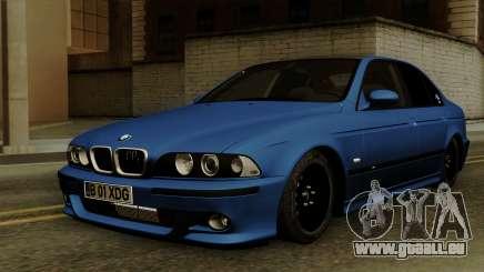 BMW M5 E39 Bucharest pour GTA San Andreas