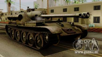 SU-101 122mm from World of Tanks für GTA San Andreas