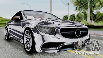 Brabus 850 Chrome für GTA San Andreas