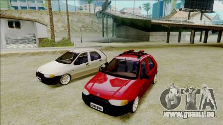 Fiat Palio EDX Turbo Performance pour GTA San Andreas