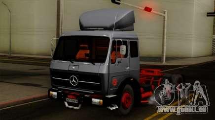 Mercedes-Benz Truck 4x6 pour GTA San Andreas