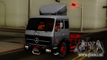Mercedes-Benz Truck 4x6 für GTA San Andreas