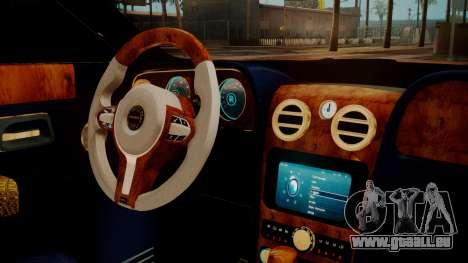 Rolls-Royce Ghost Mansory v2 für GTA San Andreas rechten Ansicht