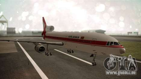 Lockheed L-1011 Air Lanka für GTA San Andreas