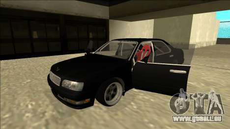 Nissan Cedric Drift für GTA San Andreas Rückansicht