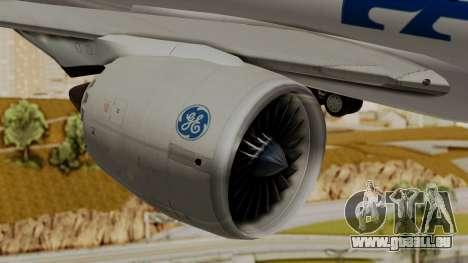 Boeing 787-9 Pan AM für GTA San Andreas rechten Ansicht