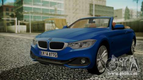 BMW M4 F32 Convertible 2014 pour GTA San Andreas