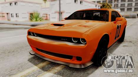 Dodge Challenger SRT Hellcat 2015 IVF pour GTA San Andreas