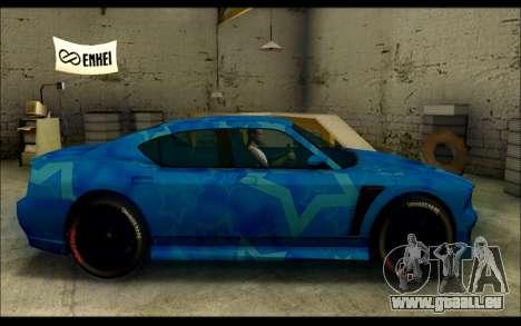 Bravado Buffalo Blue Star für GTA San Andreas linke Ansicht