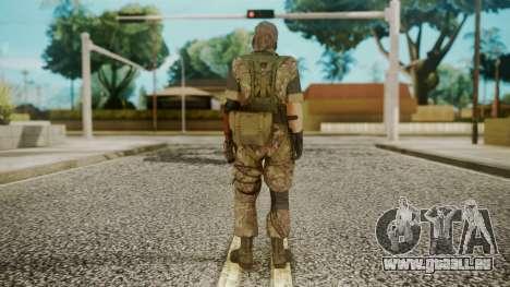 Venom Snake Woodland pour GTA San Andreas troisième écran