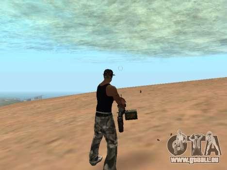 M249 für GTA San Andreas dritten Screenshot