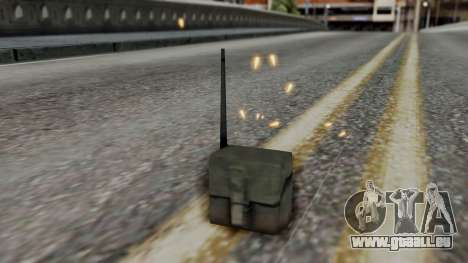 Realistic Effects Particles für GTA San Andreas dritten Screenshot