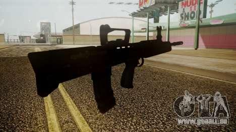 L85A2 Battlefield 3 für GTA San Andreas dritten Screenshot