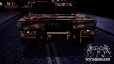 GTA 5 Rhino Tank IVF für GTA San Andreas rechten Ansicht