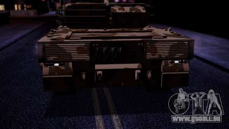 GTA 5 Rhino Tank IVF pour GTA San Andreas vue de droite