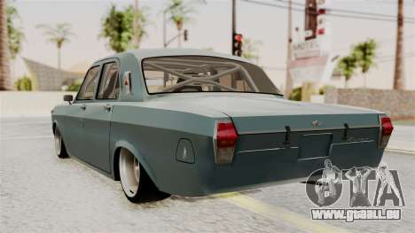 Le réchaud à GAZ 24 pour GTA San Andreas laissé vue