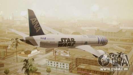 Boeing 787-9 ANA R2D2 pour GTA San Andreas laissé vue