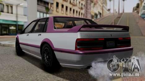 GTA 5 Albany Primo IVF pour GTA San Andreas laissé vue
