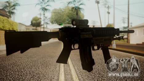 M4 with M26 Mass pour GTA San Andreas deuxième écran