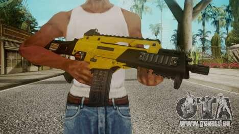 G36C Gold für GTA San Andreas