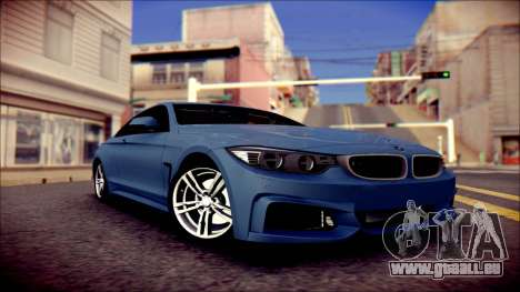 BMW 4 Series Coupe M Sport pour GTA San Andreas