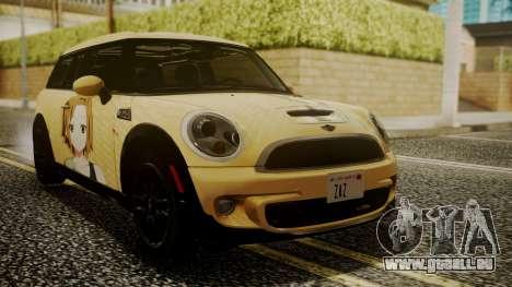 Mini Cooper Clubman 2011 K-ON Ritsu Itasha pour GTA San Andreas
