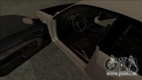 Nissan 200sx Drift JDM pour GTA San Andreas vue de droite