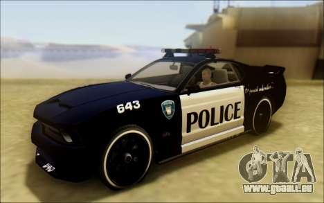 Schale Dominator Transformatoren Polizei Auto für GTA San Andreas