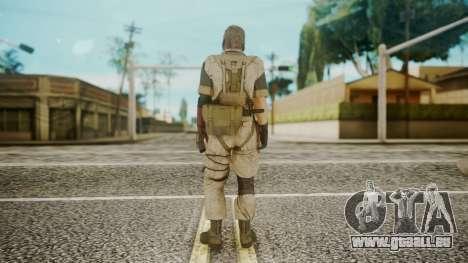 Venom Snake Desert Fox pour GTA San Andreas troisième écran